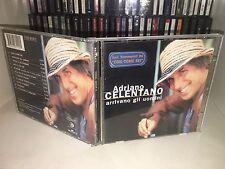 ADRIANO CELENTANO ARRIVANO GLI UOMINI CD 1996 CLAN BMG FUORI CATALOGO