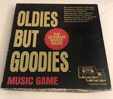 Oldies But Goodies Music Game Trivia 2 Cassettes and Booklets
