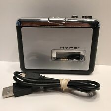 HYPE Tape To MP3, HY-2010-TP Portable Player and USB Cable EUC Fully Tested
