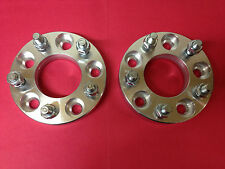 FORD FE to BA BF FG AU Falcon Front Wheel Aluminium Spacer Adaptor 25mm One Pair