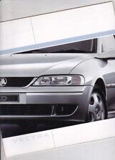 2001 HOLDEN VECTRA B SEDAN & HATCH Australian Brochure Like OPEL VAUXHALL