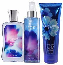 Bath & Body Works Moonlight Path Diamond Shimmer Mist/ Body Cream/Shower Gel