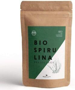 BioNutra Spirulina Bio Presslinge 250 g, 1000 x 250 mg Tabletten, ohne Zusätze
