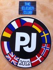 Pearl Jam Sticker LE 2012 Europe Tour DE UK NL NO CZ FR DK CZ SE BE Rare NEW OOP