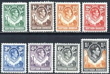 1938 Northern Rhodesia Sg 25/40 Short Set of 8 Values Mounted Mint