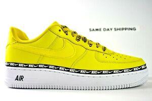 Nike Air Force 1'07 SE PRM (Mens Size 9.5) Shoes AH6827 700 Yellow wm sz 11