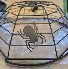 (2) Festive Plastic Spider Bowls