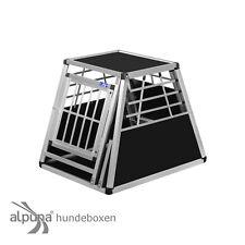 N24 Hundetransportbox Gitterbox Aluminio Transportín Perro Alubox Caja Coche