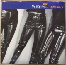 """WESTend ~ Love Rules ~ 12"""" Single PS"""