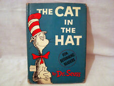 DR. SUESS THE CAT IN THE HAT 1ST EDITION 3RD ISSUE WITH DUST JACKET