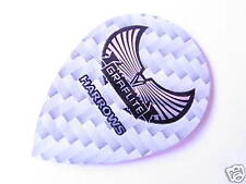 HARROWS Graflite Pear Flights-Ultra strong- 3 Sets - White -FREE UK POSTAGE