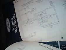 1994 FORD F600 F700 F800 CAB TRUCKS WIRING DIAGRAMS MANUAL SHEETS SET ORIGINAL
