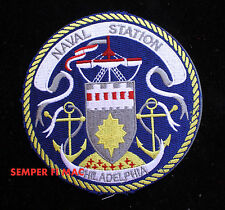 US NAVAL STATION PHILADELPHIA PATCH NAS US NAVY VETERAN PIN UP POLIT CREW WING