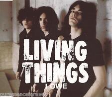 LIVING THINGS - I Owe (UK 4 Track Enhanced CD Single)