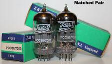 NOS Zaerix PCC88 / 7DJ8 tubes, Matched Pair, new in box !!!