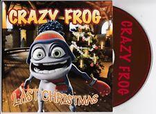 CRAZY FROG Last Christmas & Maya Hi, Maya Hu DUTCH PROMO CD George Michael song