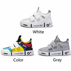 Men Breathable Shoes Casual Fashion Sneakers White Soft Outdoor Walking Trainers