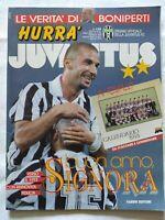 HURRA' JUVENTUS N. 1 - 1993 GIANLUCA VIALLI FABRIZIO RAVANELLI + CALENDARIO 1993