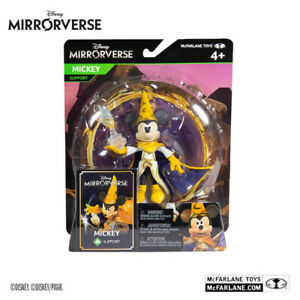 Disney Mirrorverse Mickey Mouse Action Figure McFarlane Collector New UK & MISB
