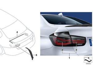 Retrofit Kit For Installation Of F30 LCI Tail Lights On pre-LCI Cars Red & Black