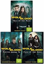 Wolfblood Series 3 Books Collection Set As Seen On BBC By Sharon Gosling Robert
