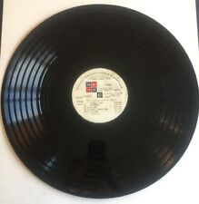 """Advertising 16"""" Vinyl Record - Lang & Co. Gold Shield Coffee - Disc 13"""