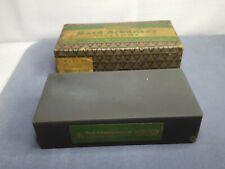 Vintage Norton Abrasives Hard Arkansas 1 HB 4 Sharpening Stone w/ Original Box