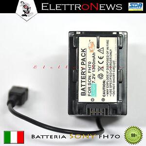 Batteria SONY FH 70 7.2V 1300mAh nuovo