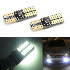 10X Car Auto 24 LED T10 Light W5W 4014 Canbus Error Free White Side marker Lamp