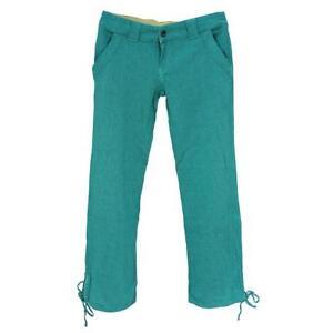 Oakley Drifter Pant Womens Size 10 AU 6 US Ladies Jade Green Cotton Casual Pants