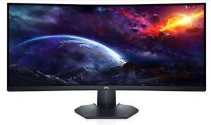 Dell 34 Curved Gaming Monitor – S3422DWG AMD FreeSync Premium Pro WQHD 144 Hz