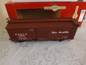 BACHMANN BIG HAULER 93318 G SCALE GARDEN RAILWAY , L BOX CAR.