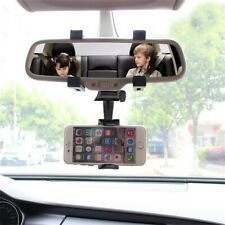 Universal Auto Car Rearview Mirror Mount Stand Holder Cradle For Phone GPS-CANAD