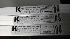 Koolant Koolers Filter 29 3/4 x 44 -- NEW --