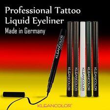 Tattoo Liquid Eyeliner Pen Make Up - Made in Germany - Color Black