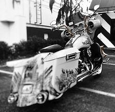 2006 Bagger Apes Stainless Steel Harley Custom Bagger Touring Dresser Handlebar