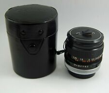 Canon FD 28mm F2.8 with Canon FD Mount