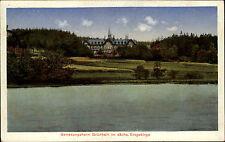 Grünhain Sachsen Erzgebirge 1934 Genesungsheim gelaufen Großolbersdorf frankiert