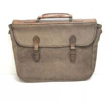 Vintage 100% Leather Mail Bag Mailer Handbag