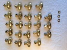 Brass Door Knobs!!!  Baldwin 5025 Estate Egg Shaped