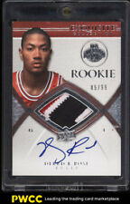 2008 Exquisite Collection Derrick Rose ROOKIE RC AUTO PATCH /99 #92 (PWCC)
