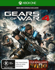Gears of War 4 Xbox One with 4 Bonus Games DLC Game NEW XBoxone