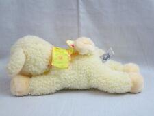 DAISY LAMB PEEPER PALS A&A  PLUSH STUFFED ANIMAL TOY YELLOW CREAM LAYING SHEEP