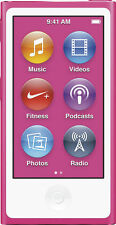 Apple iPod nano 7th Generation (16 GB) Pink Digital Media Player (