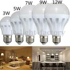 E27 3W/5W/7W/9W/12W Light DC12V/AC220V Home Energy Saving LED Bulb Light Lamp