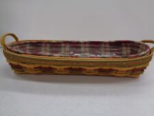 Longaberger Autumn Reflections Small Harvest Blessings Basket Combo 2000-2001