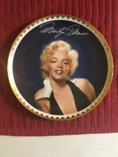 "Bradford Exchange- ""Graceful Beauty"" Marilyn Monroe The Gold Collection Plate"