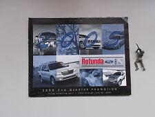 2005 Ford Rotunda 2nd Quarter Promotion Sales Catalog *FREE SHIPPING*