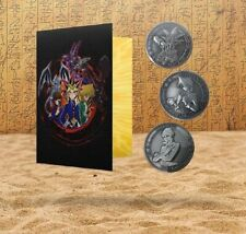 Yu-Gi-Oh! - Limited Edition Coin Album With 3 Coins