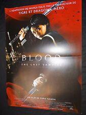 BLOOD THE LAST VAMPIRE  affiche cinema